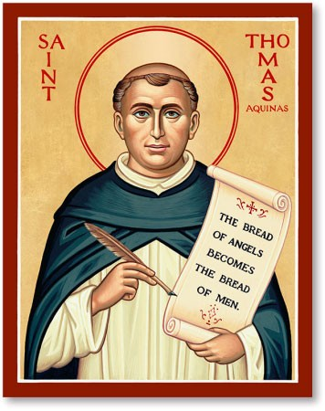 St Thomas Aquinas Icon 428