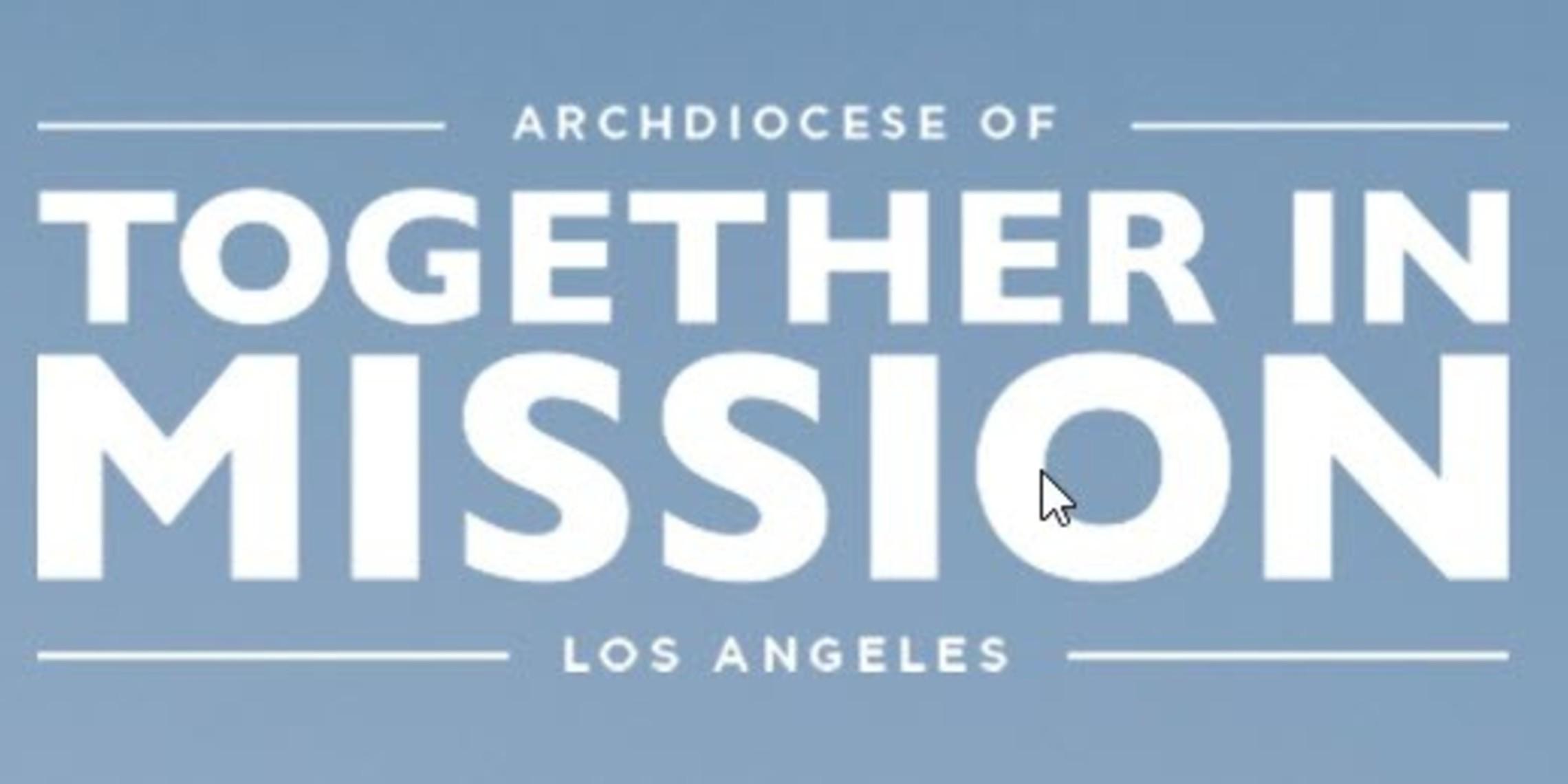 Together In Mission Logo