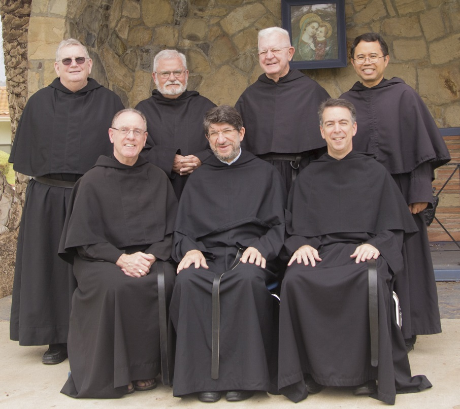 Augustinian Provincial Council with the Prior General of the Order